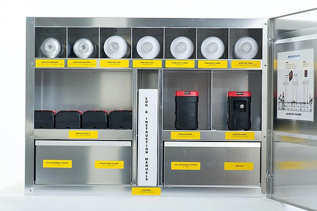 the Bruusgaard System - Gas detection and calibration equipment